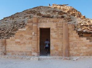 Casa Sur del complejo funerario de Djoser