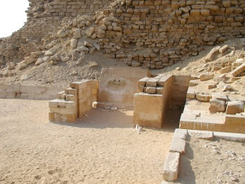 Serdab de la pirámide escalonada de Djoser