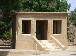 Capilla Blanca Sesostris I, el templo clásico del antiguo Egipto