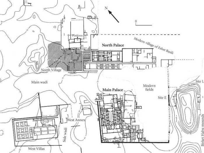 Planta de la ciudad-palacio de Amenhotep III, Malkata, arquitectura antiguo Egipto, Sandra Pajares, Bajo las arenas de Kemet