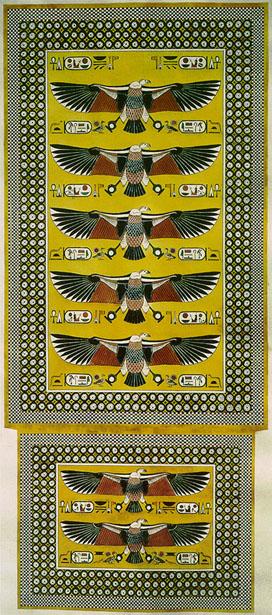 Reconstrucción decoración Malkata, Amenhotep III, arquitectura antiguo Egipto, Sandra Pajares, Bajo las arenas de Kemet