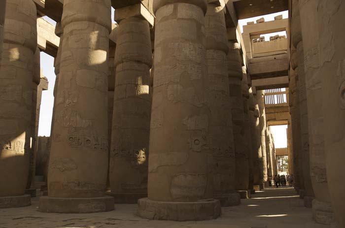 La Gran Sala Hipóstila, templo de Amón, Karnak