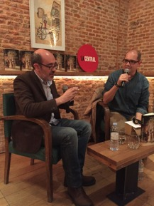 """Presentación """"La vida cotidiana en el antiguo Egipto"""" José Miguel Parra, con Nacho Ares"""