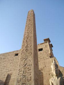 Obelisco de Ramsés II, Luxor. Bajo las arenas de Kemet, Arquitectura antiguo Egipto