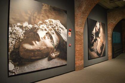"""Imágenes del Proyecto Djehuty [Img. Sandra Pajares] Exposición """"Cleopatra y la fascinación de Egipto"""""""