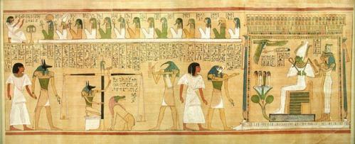 Papiro de Hunefer [Bajo las arenas de Kemet]