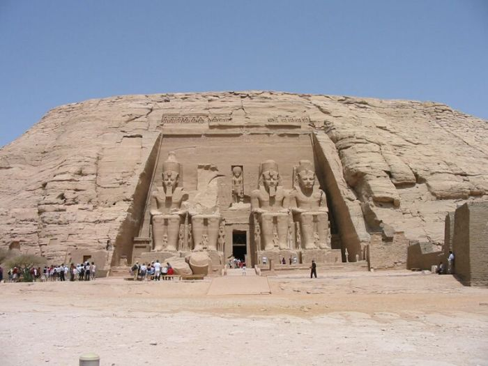Abu Simbel. El templo de Ramsés II.