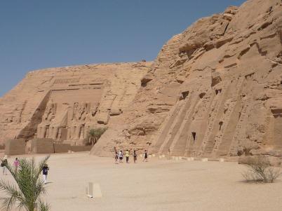 Templos de Ramsés II y Nefertari en Abu Simbel