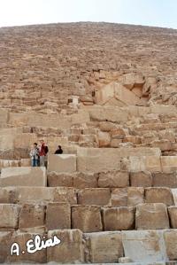 La Gran Pirámide de Keops, Khufu. Guiza. Bajo las arenas de Kemet. Arquitectura antiguo Egipto