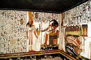 Cámara lateral de la tumba de Nefertari, qv66, Bajo las arenas de Kemet