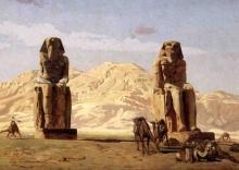 Los colosos de Memnón, Amenhotep III. Bajo las Arenas de Kemet. Arquitectura antiguo Egipto