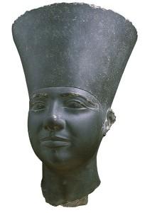 Busto de Userkaf descubierto en su templo solar, Abu Gurob, Abusir, arquitectura antiguo Egipto, Bajo las arenas de Kemet