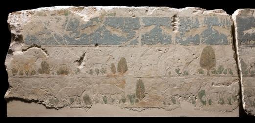 Relieve del templo Solar de Niuserre, Abu Gurob, Abusir, arquitectura antiguo Egipto, Bajo las arenas de Kemet