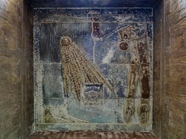 Techo de la «Capilla Pura», wabet, Templo de Hathor en Dendera, arquitectura antiguo Egipto, Bajo las arenas de Kemet