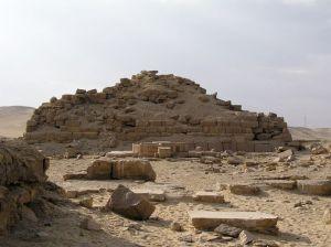 Templo Solar de Niuserre, Abusir, arquitectura antiguo Egipto, Bajo las arenas de Kemet