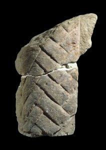 Fragmento de la barba de la Esfinge conservado en el British Museum. Complejo funerario de Kefrén [Khaefra]. Bajo las arenas de Kemet. Arquitectura antiguo Egipto