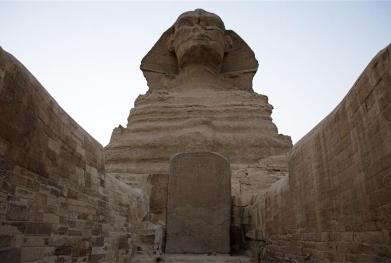 La Estela del Sueño. Complejo funerario de Kefrén [Khaefra]. Bajo las arenas de Kemet. Arquitectura antiguo Egipto